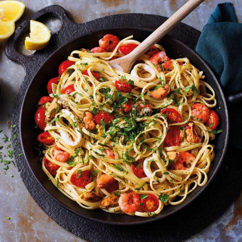 RFO Seafood Linguine